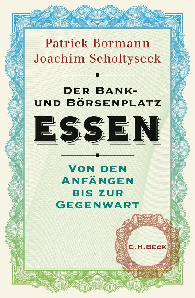 Der Bank- und Börsenplatz Essen als eBook