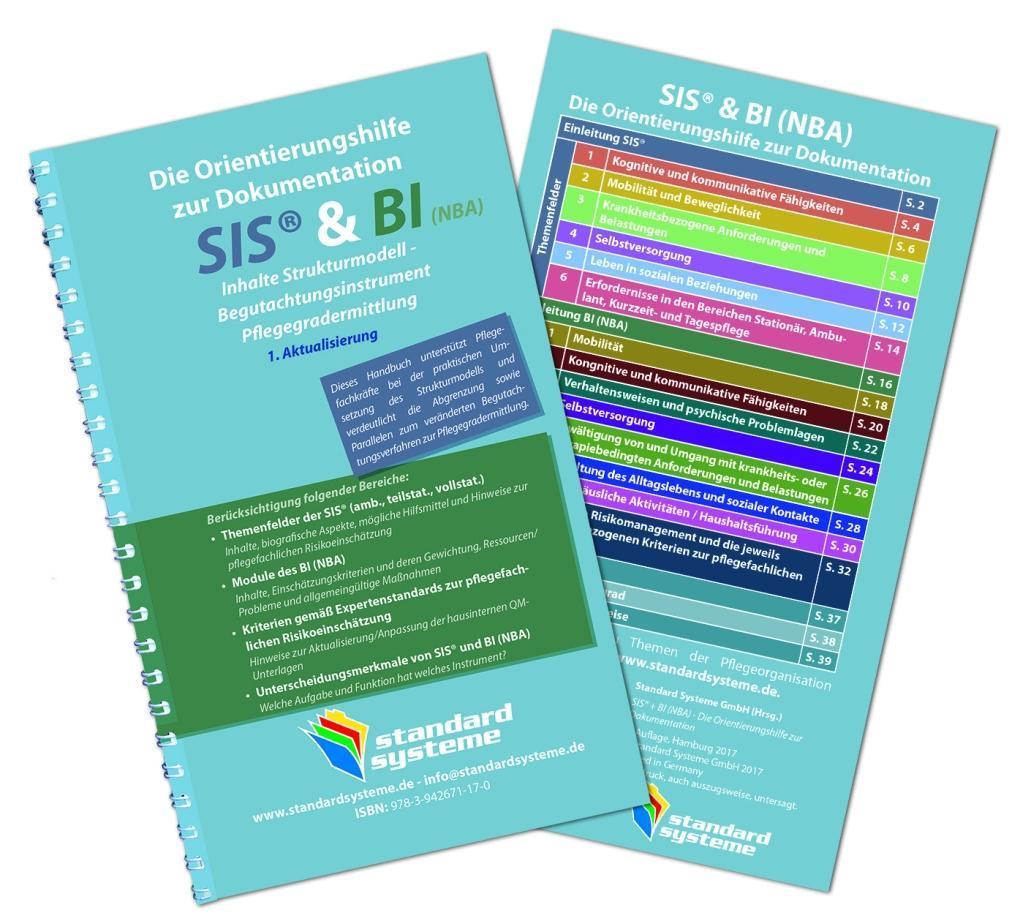 Die Orientierungshilfen zur Dokumentation SIS & BI (NBA) als Buch