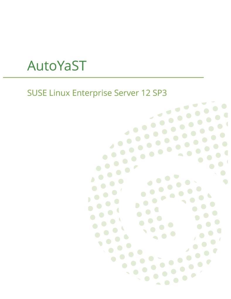 SUSE Linux Enterprise Server 12 - AutoYaST als ...