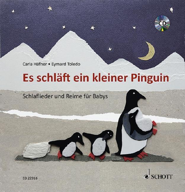 Es schläft ein kleiner Pinguin als Buch
