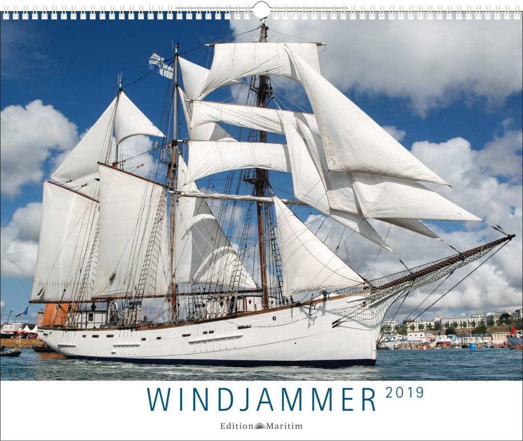 Windjammer 2019 als Kalender