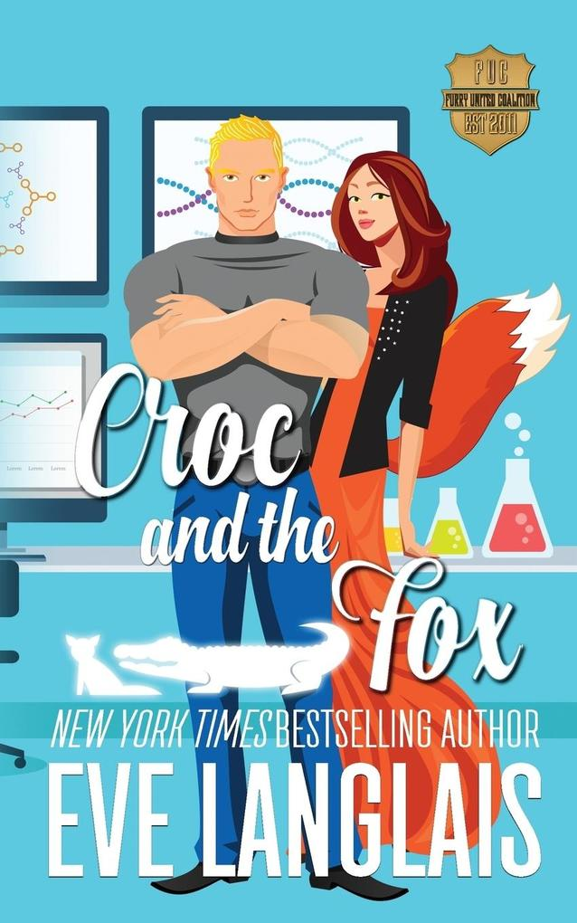 Croc and the Fox als Taschenbuch von Eve Langlais