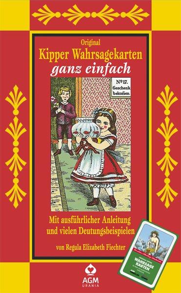 Original Kipper Wahrsagekarten als Blätter und Karten