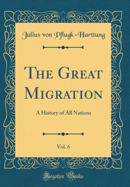 The Great Migration, Vol. 6
