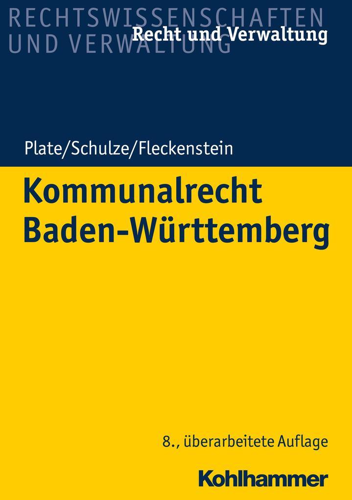 Kommunalrecht Baden-Württemberg als eBook