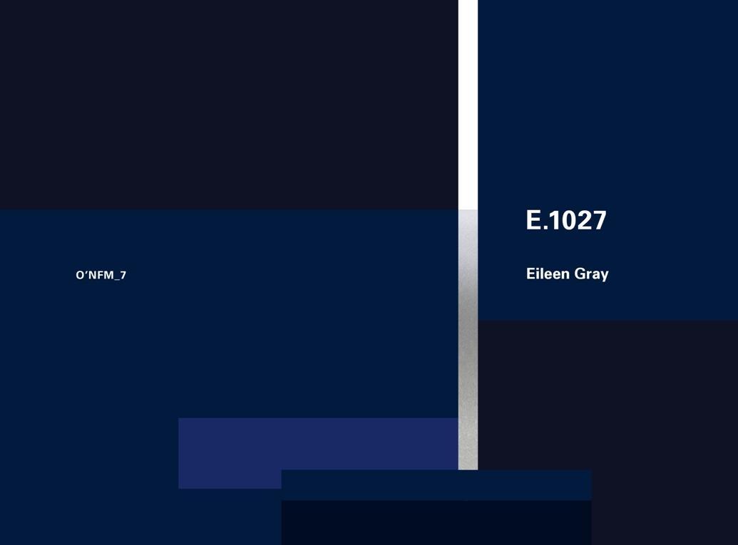 Eileen Gray: E.1027, 1926-1929: O'Neil Ford Monograph Series, Vol. 7