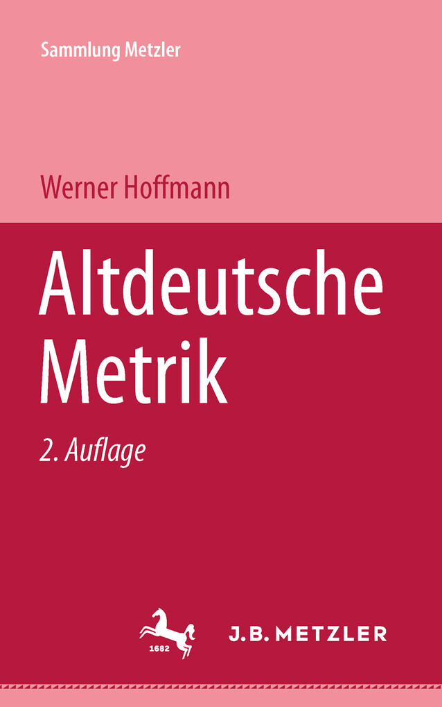 Altdeutsche Metrik als eBook