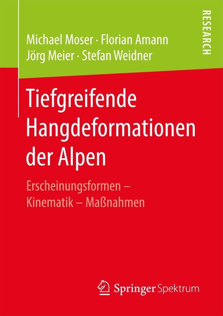 Tiefgreifende Hangdeformationen der Alpen als eBook pdf