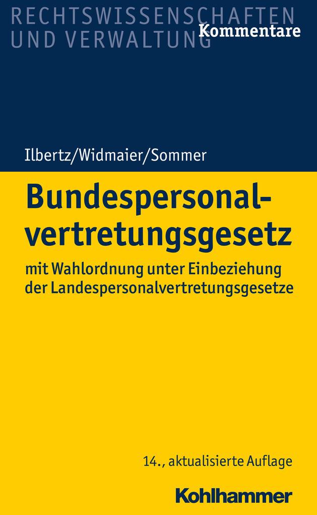 Bundespersonalvertretungsgesetz als eBook
