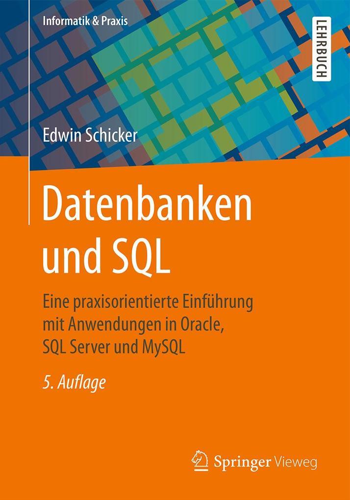 Datenbanken und SQL als eBook