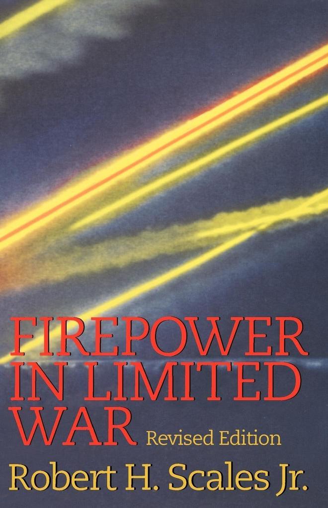 Firepower in Limited War als Taschenbuch