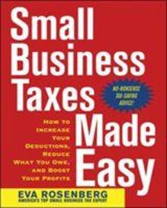 Small Business Taxes Made Easy als Taschenbuch