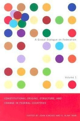 Constitutional Origins, Structure, and Change in Federal Countries als Taschenbuch