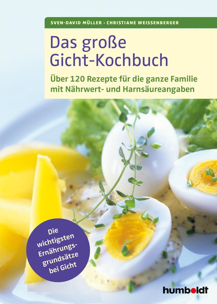 Das große Gicht-Kochbuch als eBook