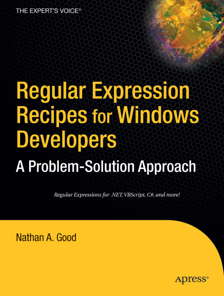 Regular Expression Recipes for Windows Developers als Buch (kartoniert)