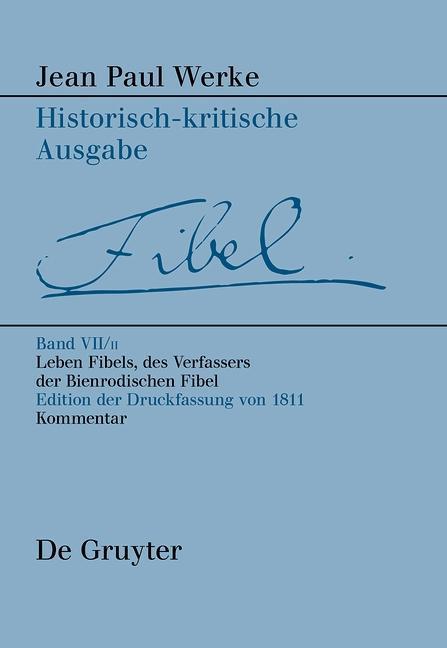 Leben Fibels, des Verfassers der Bienrodischen Fibel, 2 als eBook pdf