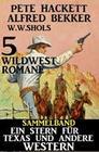 Sammelband 5 Wildwest-Romane: Ein Stern für Texas und andere Western