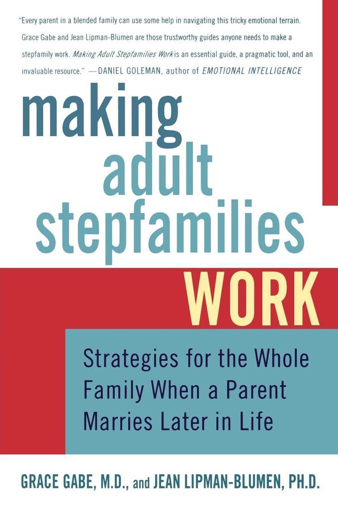 Making Adult Stepfamilies Work als Taschenbuch