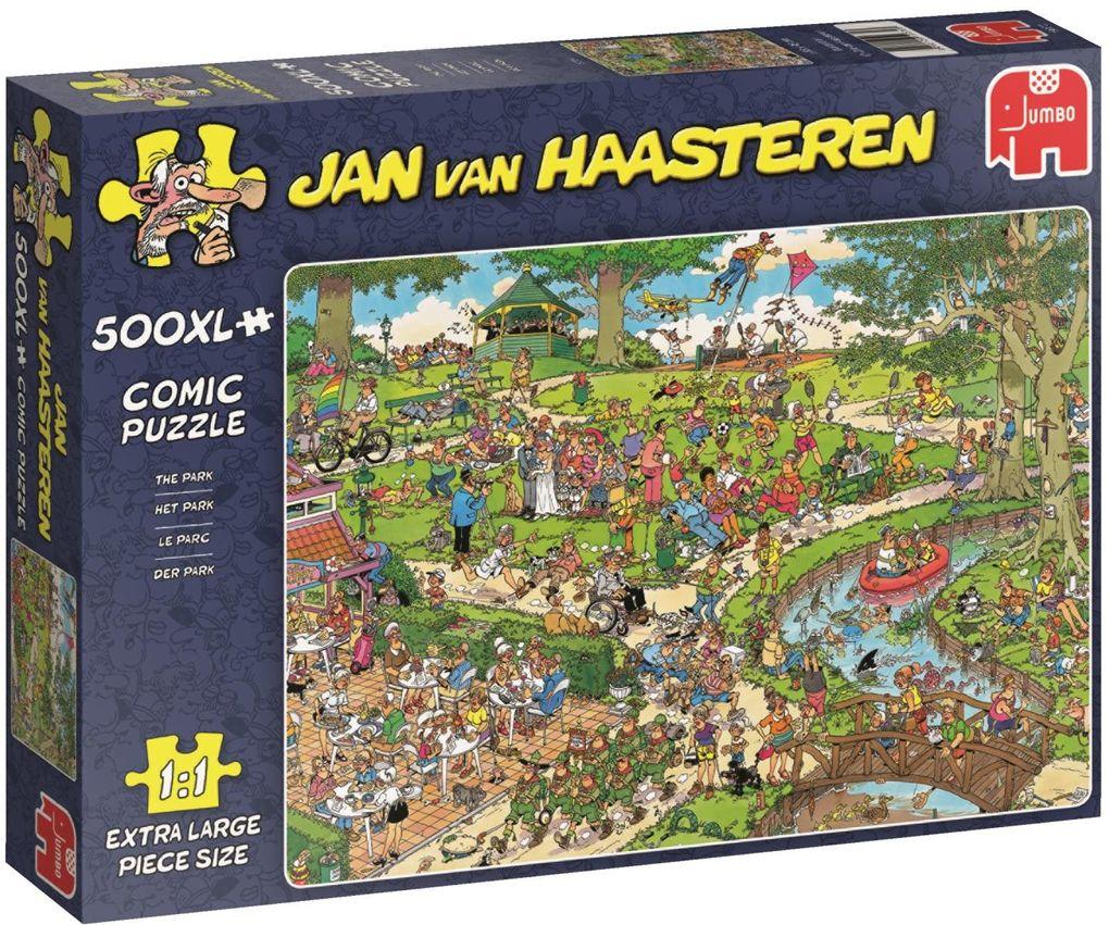 Puzzle 500 Teile Spiel Deutsch 2015 Süßigkeitenfabrik Jan van Haasteren