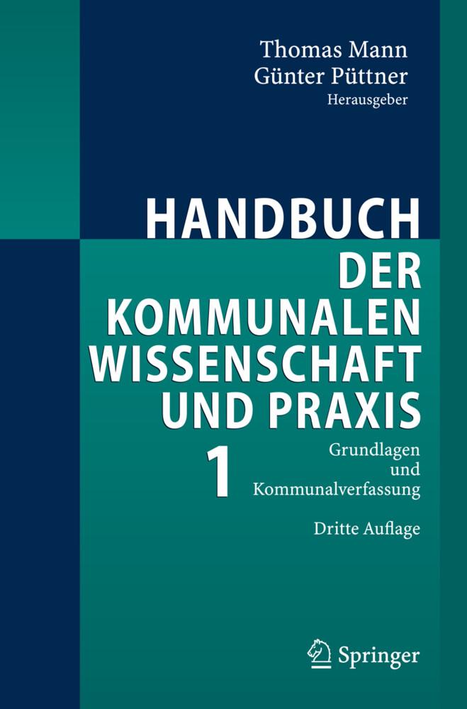Handbuch der kommunalen Wissenschaft und Praxis 1 als Buch von T. Elvers