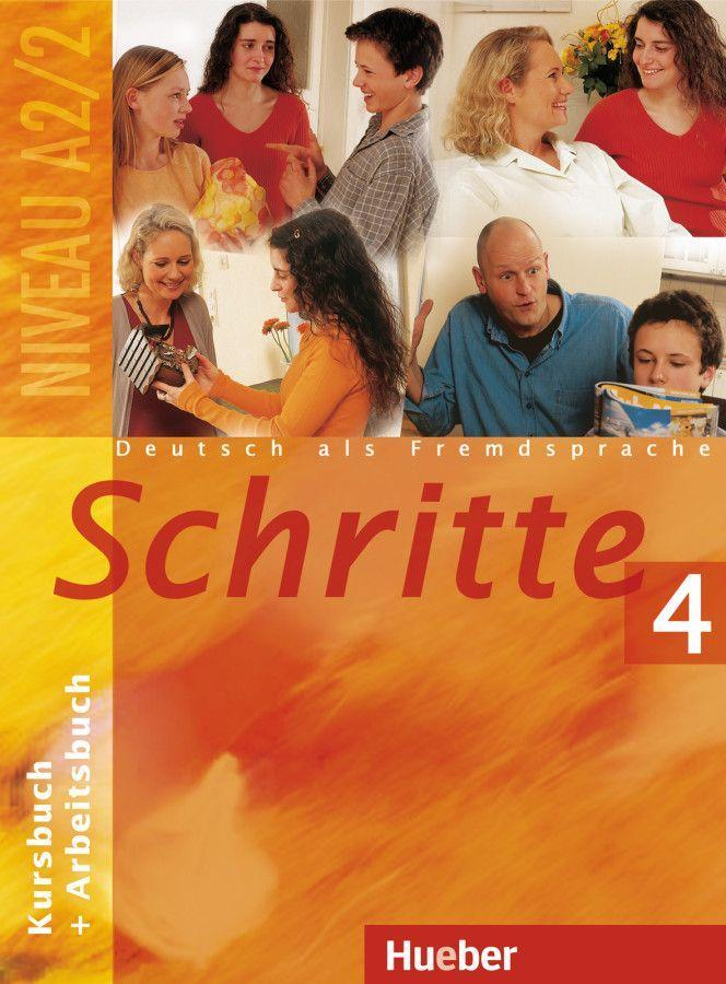 Schritte 4. Kursbuch und Arbeitsbuch als Buch