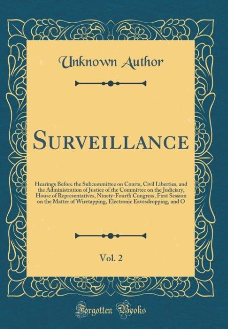 Surveillance, Vol. 2