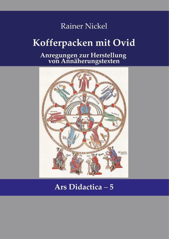 Kofferpacken mit Ovid als Buch