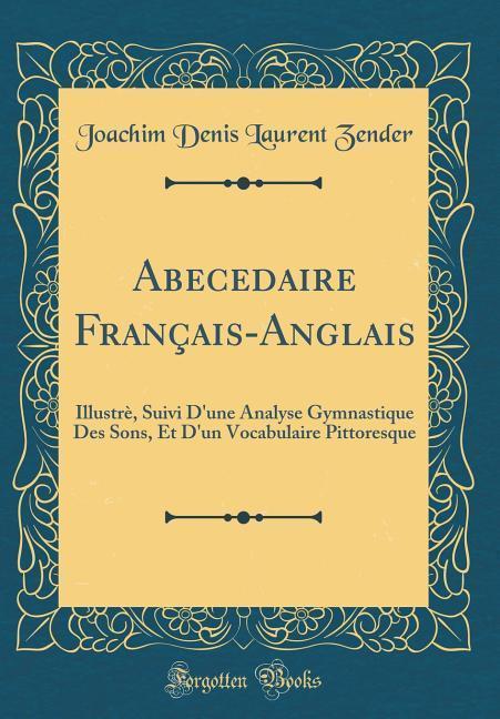 Abecedaire Français-Anglais als Buch