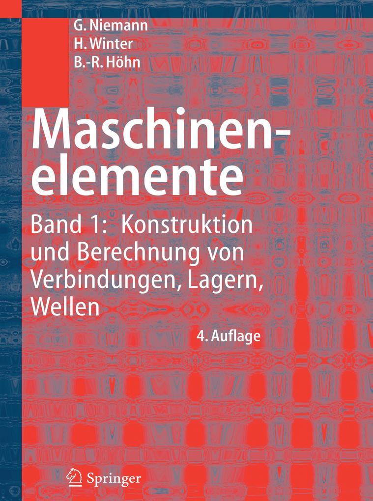 Maschinenelemente 1 als Buch