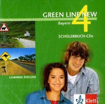 Green Line New 4. Audio CD. Bayern als Hörbuch