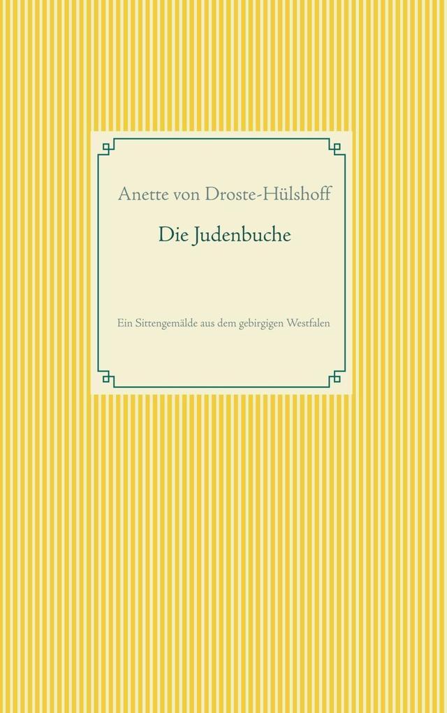 Die Judenbuche als eBook