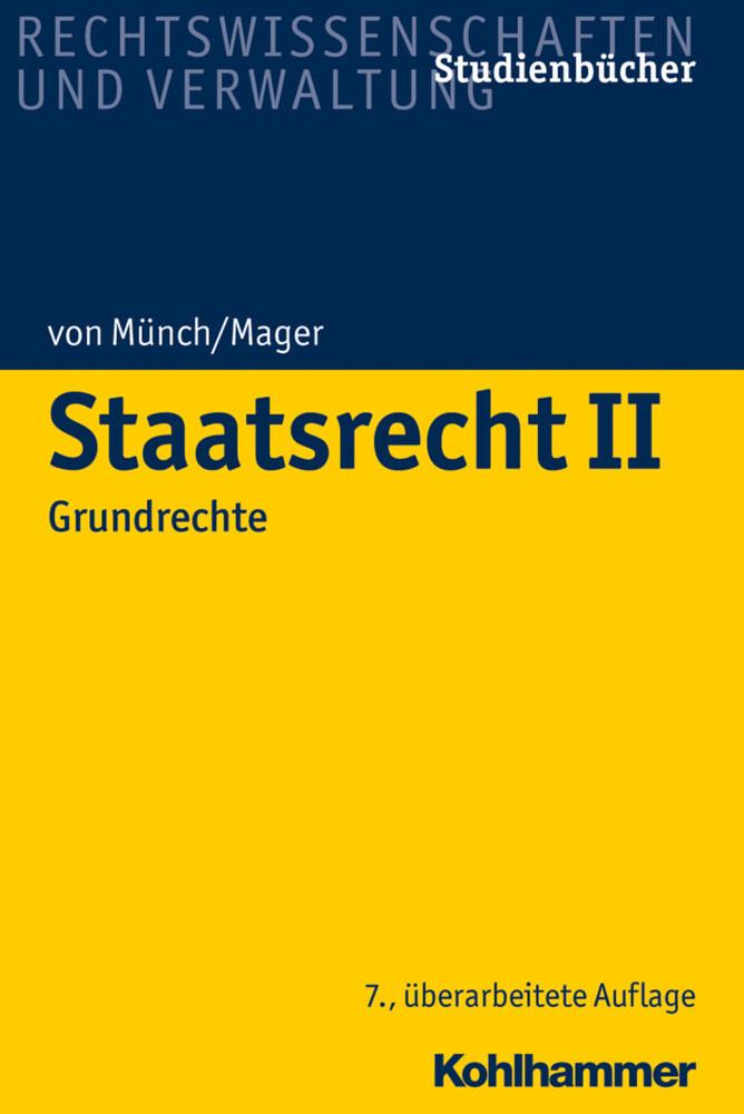 Staatsrecht II als Buch