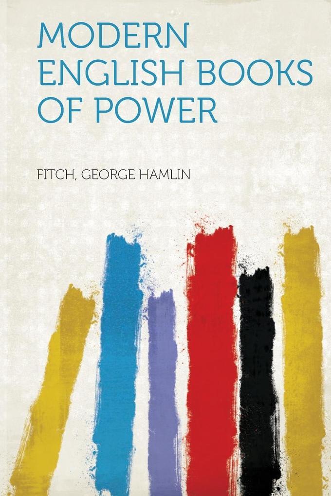 Modern English Books of Power als Taschenbuch von