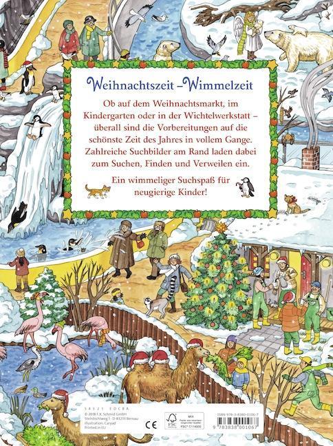 Wimmelbuch Weihnachten.Mein Schönstes Wimmelbuch Weihnachten Vom Suchen Und Finden