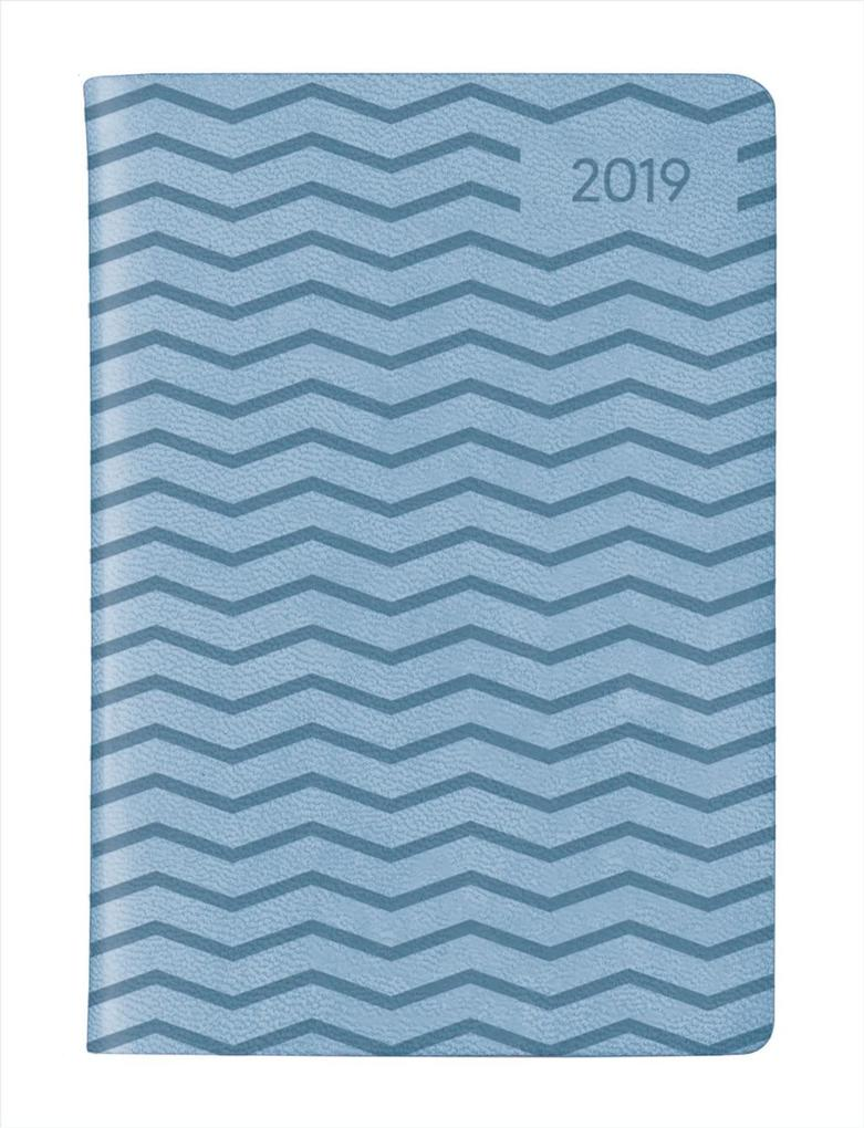 Ladytimer Mini Deluxe Sky 2019 - Taschenplaner / Taschenkalender als Kalender