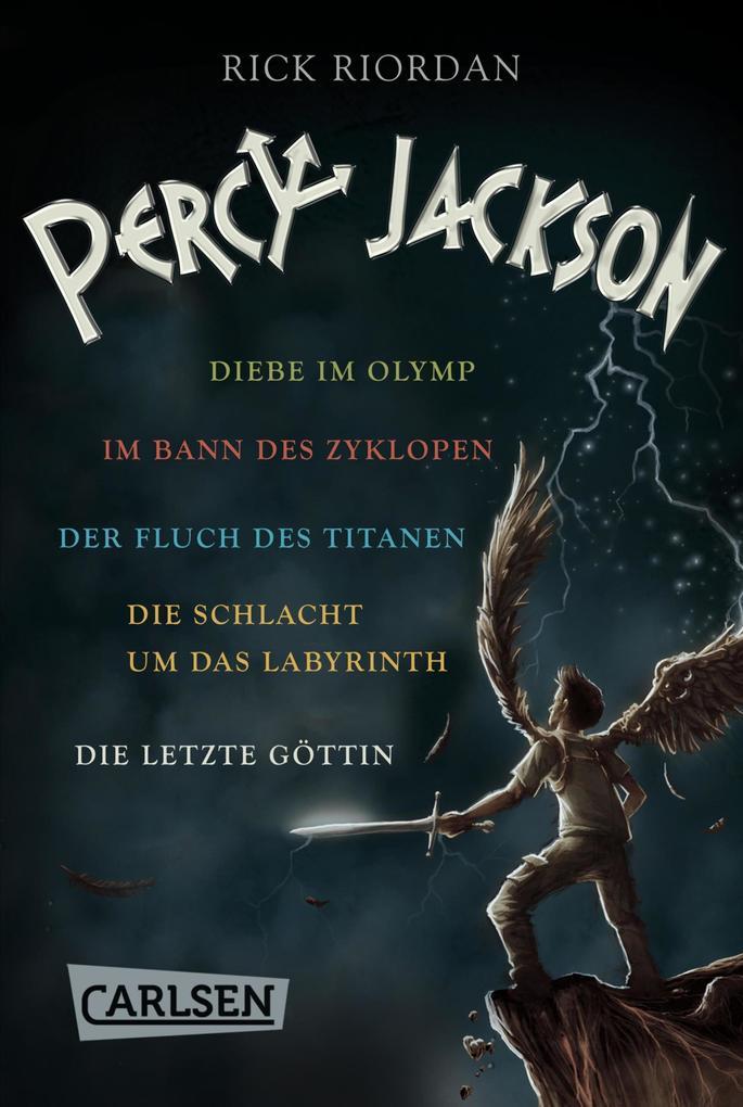 Percy Jackson: Alle fünf Bände der Bestseller-Serie in einer E-Box! (Percy Jackson ) als eBook