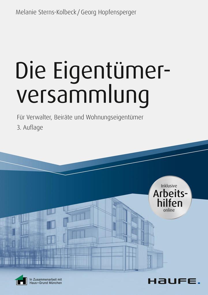Die Eigentümerversammlung - inkl. Arbeitshilfen online als eBook