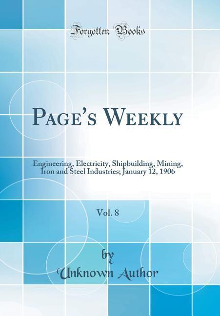 Page's Weekly, Vol. 8
