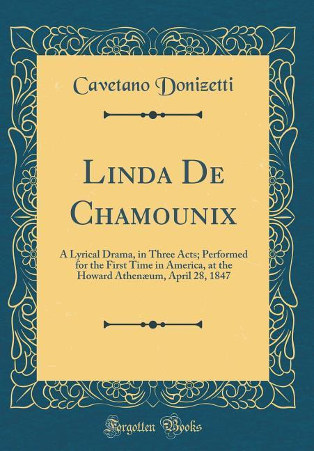 Linda De Chamounix