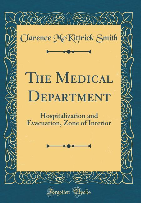 The Medical Department