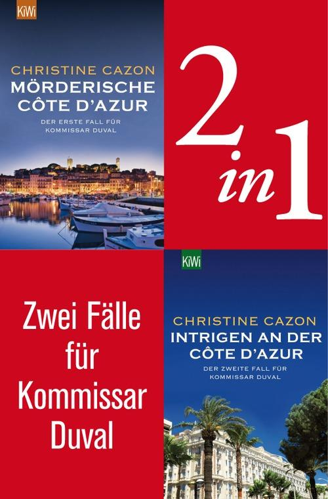 Zwei Fälle für Kommissar Duval (2in1-Bundle) als eBook