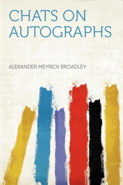 Chats on Autographs als Taschenbuch von