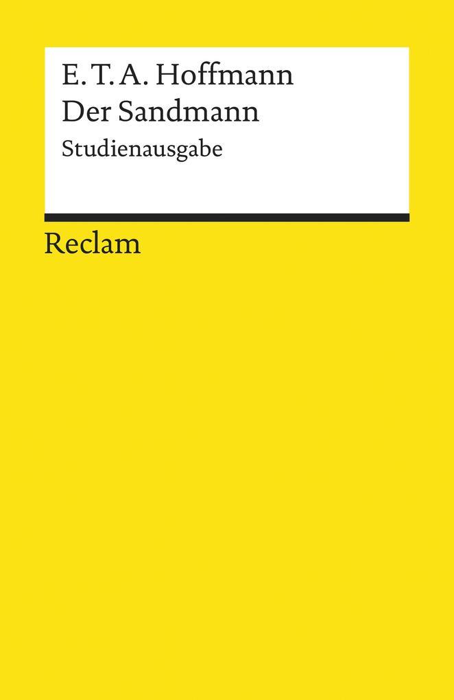Der Sandmann. Studienausgabe als eBook