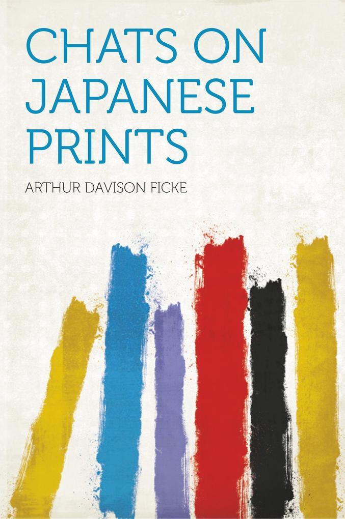 Chats on Japanese Prints als Taschenbuch von