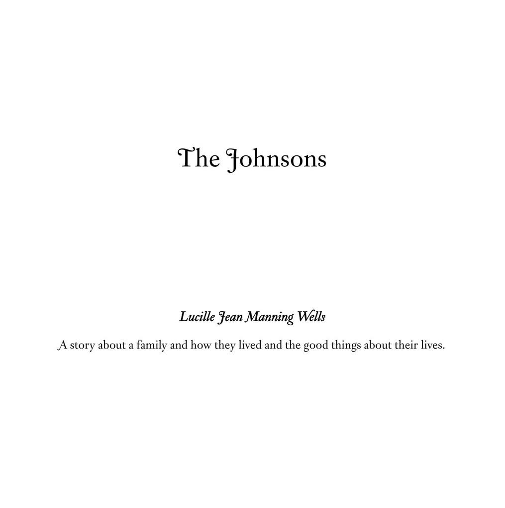 The Johnsons als eBook von Lucille Jean Manning Wells