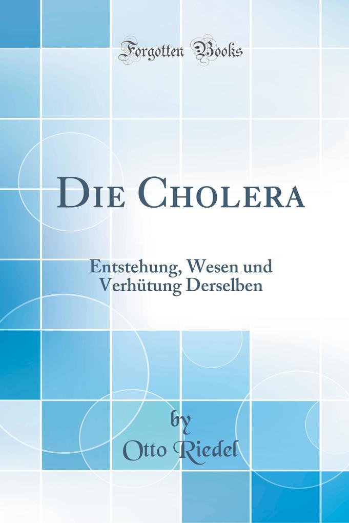 Die Cholera