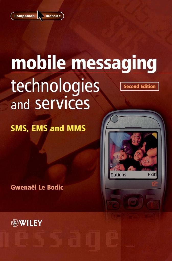 Mobile Messaging Technologies als Buch (gebunden)