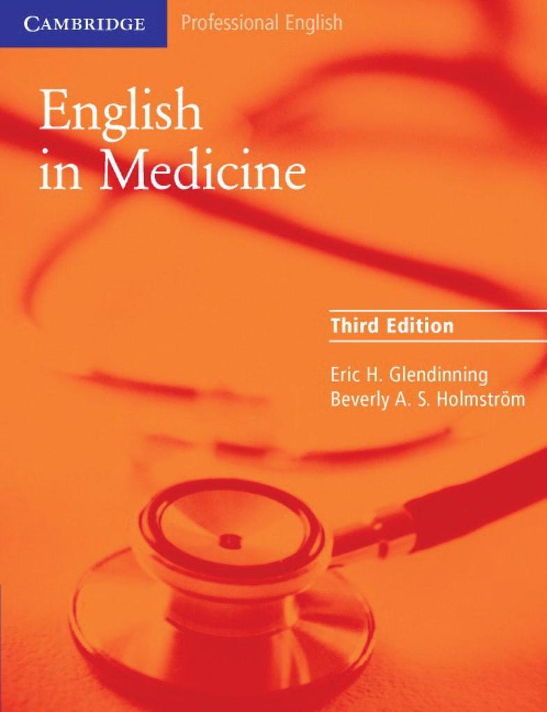 English in Medicine als Buch (kartoniert)