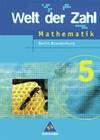 Welt der Zahl 5 Mathematik - Schülerband / Berlin, Brandenburg