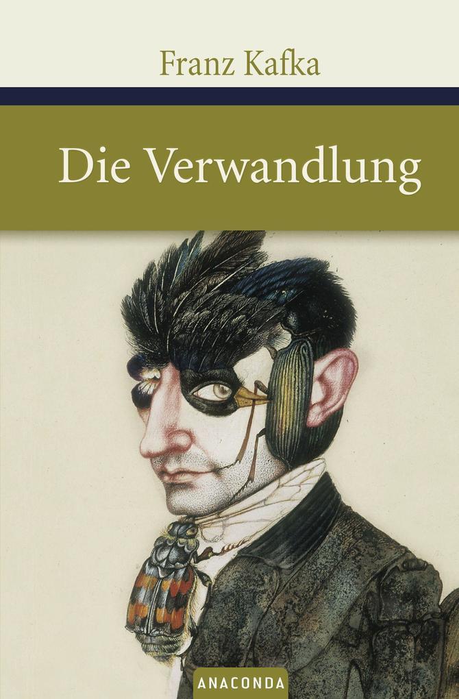 Die Verwandlung als Buch von Franz Kafka